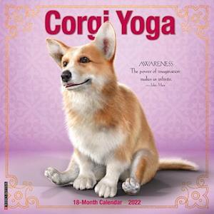 Corgi Yoga 2022 Wall Calendar (Dog Humor)