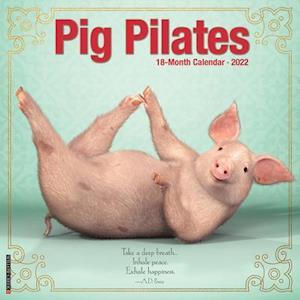 Pig Pilates 2022 Wall Calendar