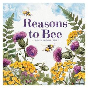 Reasons to Bee 2022 Wall Calendar
