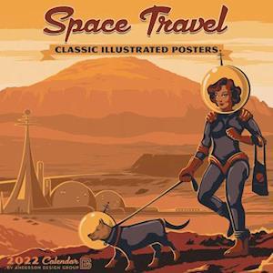 Space Travel 2022 Wall Calendar