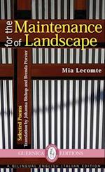 For the Maintenance of Landscape (Essential Translations)