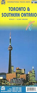 Toronto & Southern Ontario, International Travel Map (International Travel Maps)