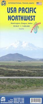 USA Pacific Northwest: Washington, Oregon & Idaho, International Travel Maps (International Travel Maps)