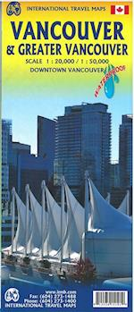 Vancouver & Greater Vancouver, International Travel Maps (International Travel Maps)