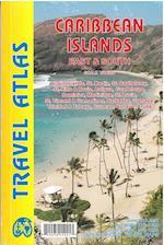 Caribbean Islands: East & South Travel Atlas (International Travel Maps)