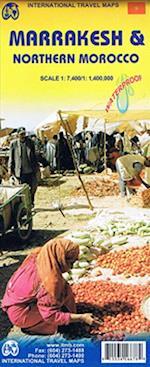 Marrakesh & Northern Morocco, International Travel Maps 1:7.400/1.4 mi