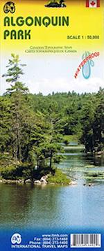 Algonquin Provincial Park (Ontario) Canoe Routes