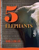 5 Elephants (5 Animals)