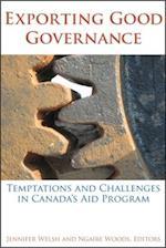 Exporting Good Governance af Jennifer Welsh, Ngaire Woods