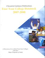 Chronicle Four-Year College Databook 2007-2008 (CHRONICLE FOUR-YEAR COLLEGE DATABOOK)