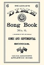 Dime Song Book #6 af Applewood Books, Applewood Books, Beadle and Company