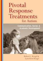 Pivotal Response Treatment for Autism