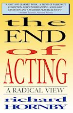 The End of Acting