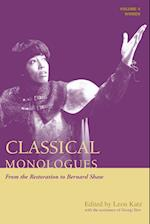 Classical Monologues