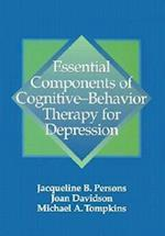Essential Components of Cognitive-Behavior Therapy for Depression af Joan Davidson, Jacqueline B. Persons, Michael A. Tompkins