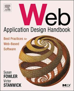 Bog, paperback Web Application Design Handbook af Victor Stanwick, Susan Fowler