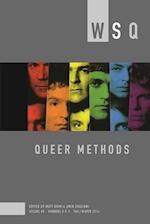 Queer Methods (Women's Studies Quarterly)