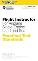 Flight Instructor Practical Test Standards for Airplane June 2012