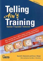 Telling Ain't Training