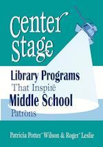 Center Stage af Roger Leslie, Patricia Potter Wilson