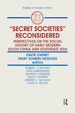 Secret Societies Reconsidered af David Ownby