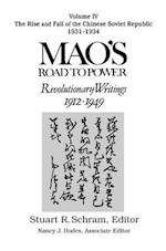 Mao's Road to Power: Revolutionary Writings, 1912-49 af Zedong Mao
