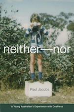 Neither-Nor af Paul Jacobs