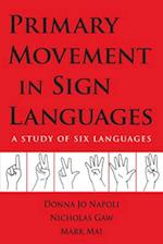 Primary Movement in Sign Languages