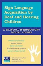 Sign Language Acquisition by Deaf and Hearing Children - USB Flash Drive