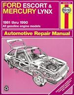 Ford Escort & Mercury Lynx (81-90) Automotive Repair Manual (Haynes Automotive Repair Manuals)