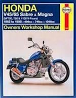 Honda V45/65 Sabre and Magna (VF700, 750 and 1100 V-Fours) (Haynes Owners Workshop Manuals)