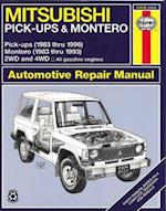 Mitsubishi Pick-Ups (1983-1996) and Montero (1983-1993) Automotive Repair Manual (Haynes Automotive Repair Manuals)