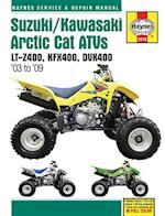 Suzuki/Kawasaki Arctic Cat ATV's Service and Repair Manual (Haynes Service and Repair Manuals)