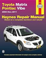 Toyota Matrix Automotive Repair Manual af John Haynes