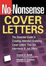 No-Nonsense Cover Letters (No Nonsense)