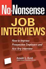 No-Nonsense Job Interviews (No Nonsense)