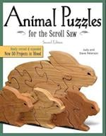 Animal Puzzles for the Scroll Saw (Scroll Saw, Woodworking & Crafts Book)