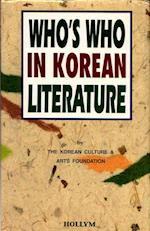 Who's Who in Korean Literature