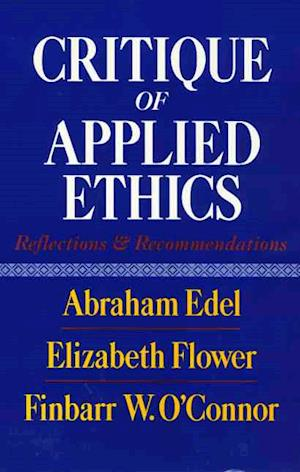 Critique Of Applied Ethics