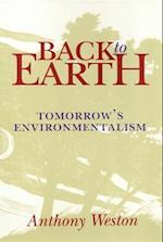 Back to Earth af Anthony Weston