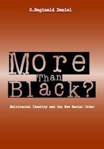More Than Black? af Daniel