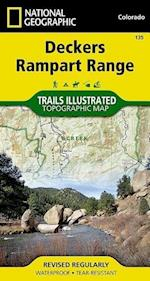 Deckers, Rampart Range af National Geographic Maps - Trails Illust