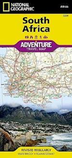 National Geographic Adventure Map South Africa af National Geographic Maps