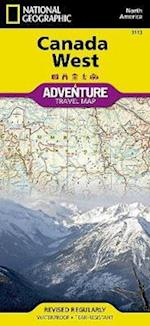 Canada West af National Geographic Maps