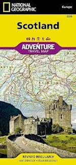 Scotland Adventure Travel Map (National Geographic Adventure Travel Maps, nr. 3326)