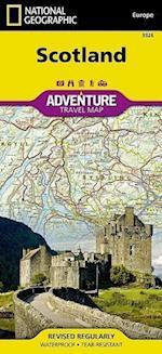 National Geographic Adventure Map Scotland (National Geographic Adventure Map)
