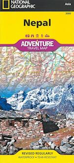 Nepal af National Geographic Maps