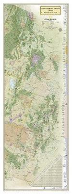Continental Divide Trail [Laminated] (National Geographic Reference Map)