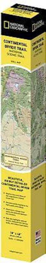 Continental Divide Trail [In Gift Box] (National Geographic Reference Map)