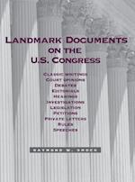 Landmark Documents on the Us Congress
